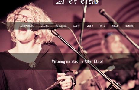 Alter Etno - strona zespołu