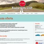 Nauka jazdy STOP